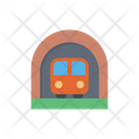 Railway Train Subway Icon