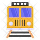 Railroad Railway Train Icon