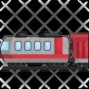Railway Train Transport Icon