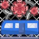 Railway Railroad Transport Icon