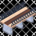 Overpass Flyover Railway Bridge Icon
