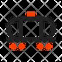 Railway Carriage Icon