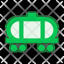 Railway Carriage Tank Icon