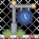 Railway Clock Icon