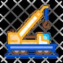 Railway Crane Building Icon