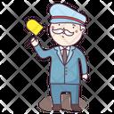 Railway Employee Icon