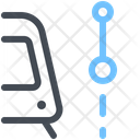 Railway Path Icon