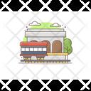 Railway Station Railway Terminal Platform Icon