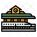 Railway Train Station Icon
