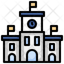 Railway Station Transportation Train Station Icon