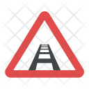 Railway Track Road Icon