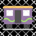 Railway Wagon Goods Icon