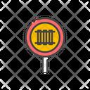 Railways Sign Icon