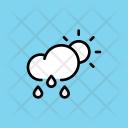 Rain Rainfall Drizzle Icon