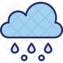 Clouds Rain Raining Icon