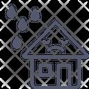 Rain Home House Icon
