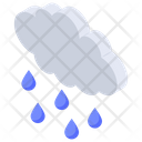 Nature Weather Drizzling Icon