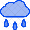 Rain Cloud Water Icon