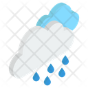 Hail Storm Rainstorm Hail Weather Icon