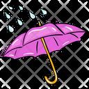 Rain Rain Protection Parasole Icon