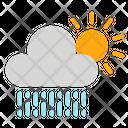Cloud Rain Sun Icon