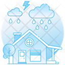 Rain Rainstorm Rainy Weather Icon
