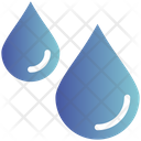 Rain Drops Winter Icon