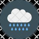 Cloud Rain Drizzle Icon