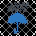 Rain Umbrella Protection Icon