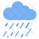 Rain Cloud Downpour Icon