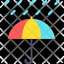 Rain Rainfall Umbrella Icon