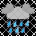 Rain Cloud Forecast Icon