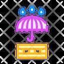 Umbrella Waterproof Layer Icon