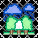 Tropical Rain Jungle Icon