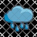 Rain Cloud Rainfall Icon