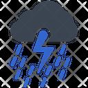 Cloud Rain Storm Icon