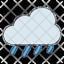 Rain Cloudy Cloud Icon