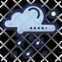 Rain Cloud Day Icon
