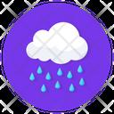 Raining Cloud Raining Weather Icon