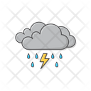 Rain Cloud Forecast Icon