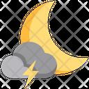 Rain Thunder Weather Icon