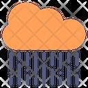 Rain Cloud Dark Icon
