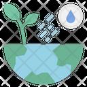 Rain Growth World Icon