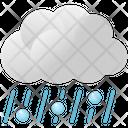 Clouds Hail Rain Icon