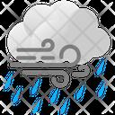 Clouds Forecast Rain Icon