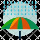 Rain Umbrella Safety Icon