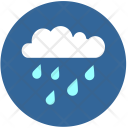 Cloud Rain Temperature Icon