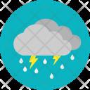 Rain Weather Thunderstorm Icon