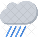 Rain Nature Phenomenon Icon