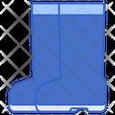 Rain Boots Foot Wear Boot Icon